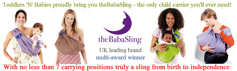 theBabaSling - the only child carrier you will ever need