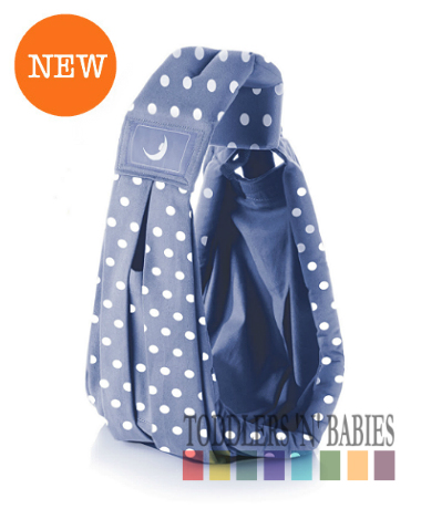 theBabaSling� Classic Special Edition - Polka Blue