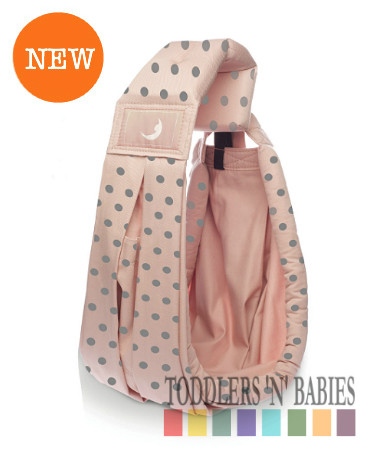 theBabaSling Classic Special Edition - Polka Rose