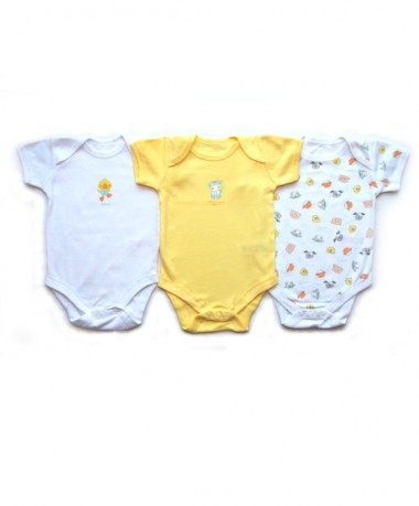 3-6 Months Short Sleeve Bodysuits