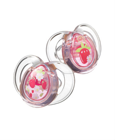 Tommee Tippee Closer to Nature Pure Soother 9-18 months (2pcs) Pink
