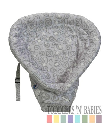 ERGObaby Infant Insert Heart to Heart - Galaxy Grey