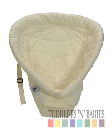 ERGObaby Infant Insert Heart to Heart - Natural