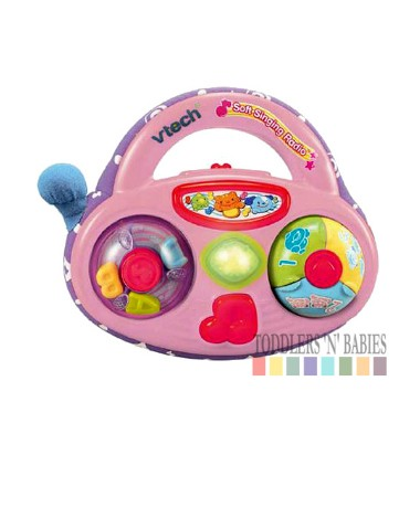 VTech Baby Soft Singing Radio - FREE BATTERIES